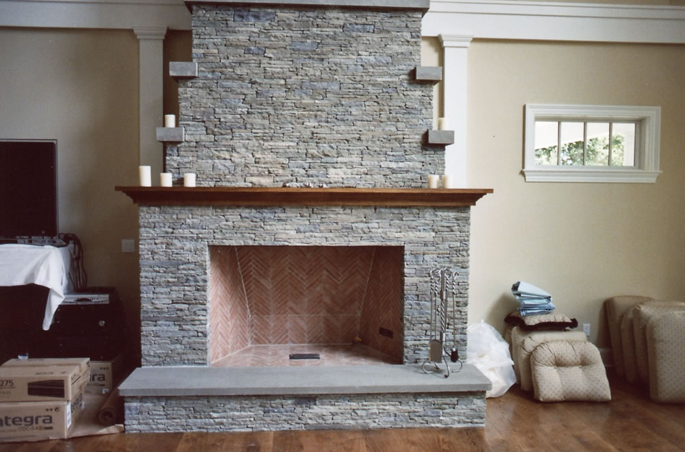 stone fireplaces gray masonry rh graymasonry com cleaning bluestone fireplace hearth cleaning bluestone fireplace hearth