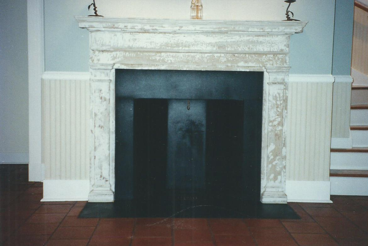 stone fireplaces gray masonry